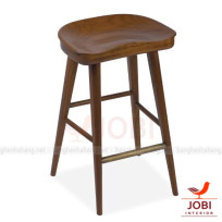 Ghế Quầy Bar SADDLE WALNUT